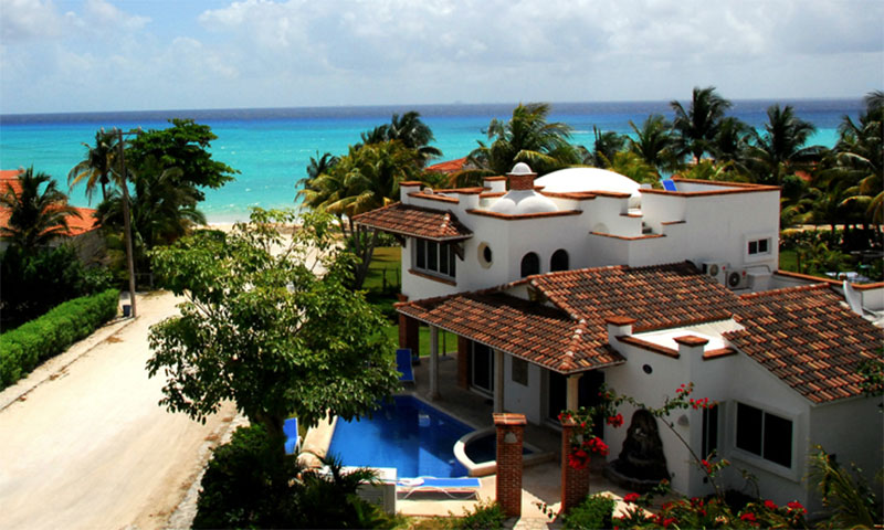 Casa Blanca Villa Playacar