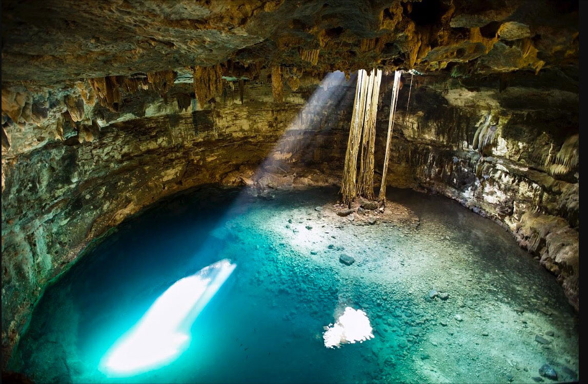 cenotes on the riviera maya