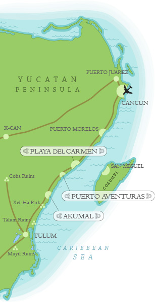 Puerto Aventuras, Mexico